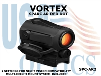 VORTEX SPARC AR - 2 RED DOT
