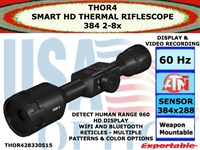 ATN ThOR 4 384 2-8x SMART HD THERMAL RIFLESCOPE