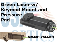 NcSTAR KEYMOD GREEN LASER with PRESSURE PAD