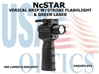 NcStar grip with Light and Green Laser
