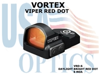 VORTEX VIPER RED DOT 6 MOA DOT