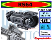 FLIR RS64 THERMAL WEAPON SIGHT (35mm or 60mm CHOICE)