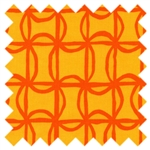 Lili-fied Pin Wheel Orange 05971-30 from Kanvas Studio by Benartex