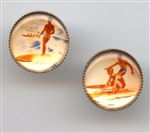 Hawaiian Surfers Set of 2 1113 Cream from Renaissance Buttons