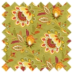 High Street Large Floral 11470-15 Sage for Moda