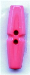 Tube Polyamid Toggle Button 211639-Pink Dill Buttons of America