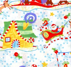 It's Christmas Collage 2JHF1 White In the Beginning
