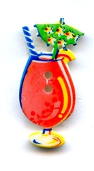 Summer Fun Tropical Drink Button 370310 from Dill Buttons