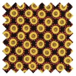 Happy Floral Dots Yellow 3JHA from In the Beginning