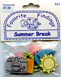 Summer Break Flatbacks Favorite Findings #543 from Blumenthal Lansing Co.