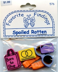 Spoiled Rotten Buttons Favorite Findings #576 from Blumenthal Lansing Co.