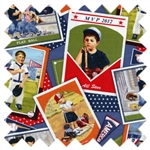 Sports All Stars Baseball Cards 6002 Blue from Elizabeth's Studio
