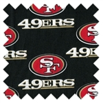 NFL San Francisco 49ers Football Black 6337D from Traditions