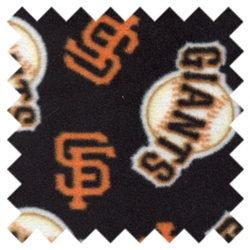 Fleece MLB San Francisco Giants 6534 Black from Traditions