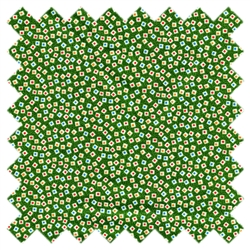 Holly's Dolls Speckles Green 8010-005 for Blue Hill Fabrics