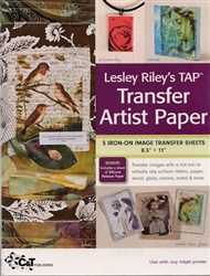 Lesley Riley's TAP  5 Iron-on Transfer Artist Paper