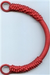 Colors Abaca Rope Handle Red #BGH-307 from The Button Company