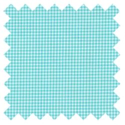 Gingham Crazy Tiny Gingham Aqua CX4834 from Michael Miller