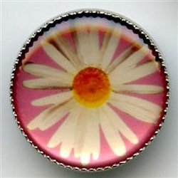 Daisy I165P Pink from Renaissance Buttons