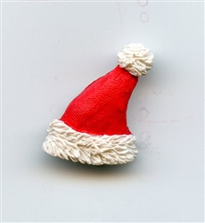 Santa Claus Hat Button Red  LM-248