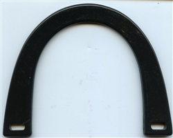 Acrylic Purse Handle SFPH-P35 Black from Sunbelt Fastener Company