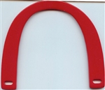 Acrylic Purse Handle SFPH-P35 Red from Sunbelt Fastener Company