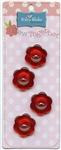 Flower Buttons Sew Together STB-CFI-Red from Riley Blake Designs
