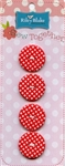 Gingham Buttons Sew Together STB-CGI-Red from Riley Blake Designs