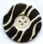 Black Waves Button V-1900 The Button Company