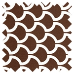 Bekko Billow Brown WS5721-Brow-D from Michael Miller