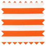 Bekko Thin Stripe Tangerine WS5888-Tang-D from Michael Miller