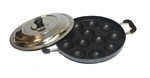 Appam Maker Paniyaram Non Stick Pan with Lid