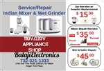 We Repair All Brands of Indian Mixers & Wet Grinders