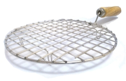 Stainless Steel Wire Roaster, Papad Jali, Round