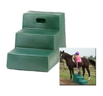 Horsemen's Pride Three Step Mounting Step