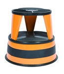Kik-Step Orange Zest Rolling Step Stool