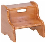 Solid Pine Kids Step Stool Made in USA