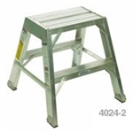 Stokes 4024FLS2S Extra-Long Folding Alum. Step Stand