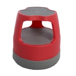 Red Task*it Scooter Rolling Step Stool
