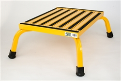 Safety Step Aluminum  Commercial, Medical, Safety Step Stool