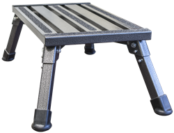 Safety Step Folding Steel Industrial Step Stool