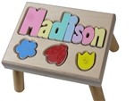 Puzzle Name Step Stool Maple Flowers - 8 Letters