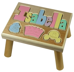 Puzzle Name Step Stool Maple Princess - 8 Letters