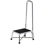 Clilnton Bariatric Step Stool with Handrail