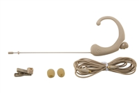 DA12 BE Single Ear Headworn Microphone, -45dB Omni, Beige