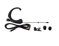 DA12 DL Single Ear Headworn Microphone PETITE, -45dB Omni, Black