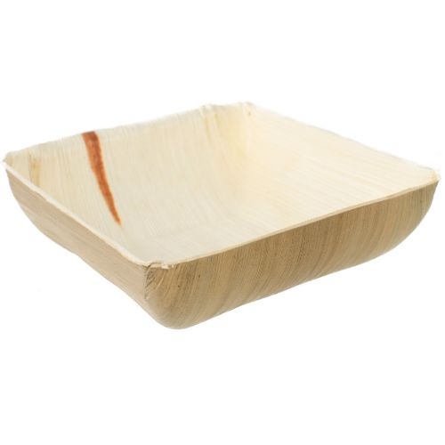 Palm Leaf Square Bowl