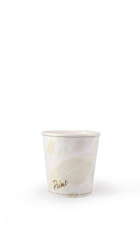Hot Cup-10 oz-Compostable-PLA Lined - 1000/Cs (20 X 50)