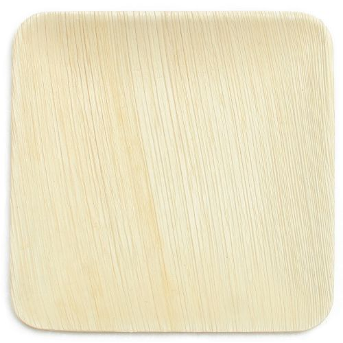 Palm Leaf Plate Large Square