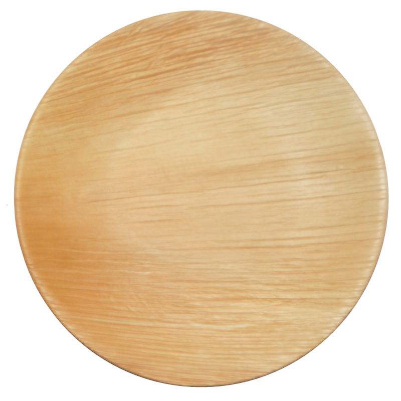 Palm Leaf Plates 9 Inch Round - Compostable Sustainable and ...